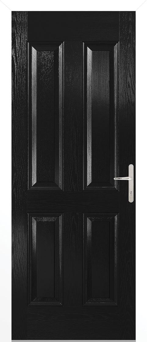 Carsington Black External Composite Door Sets