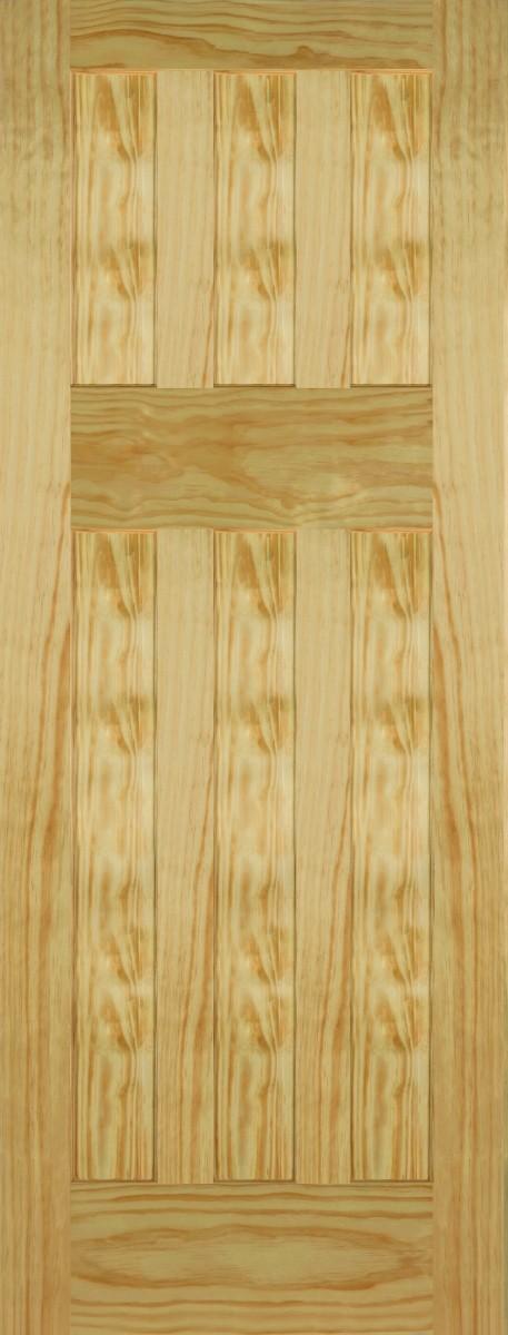 Mendes 6 Panel Pine DX 30s Style Fire Door FD30