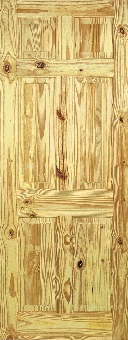 Knotty Pine 6 Panel