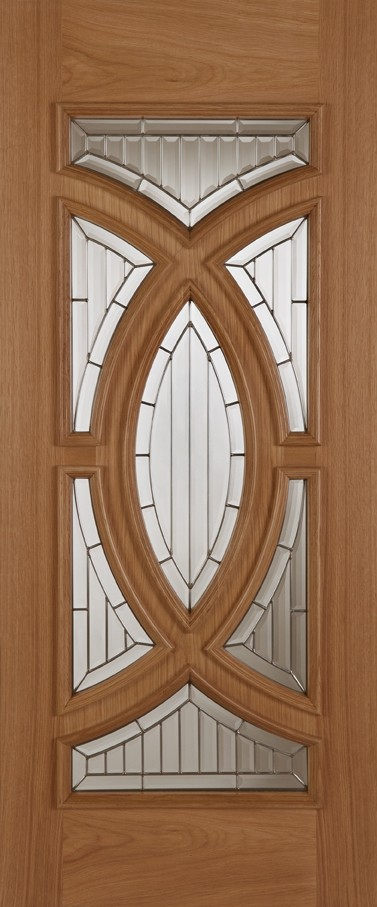 Oak Majestic (Leaded Double Glazed)