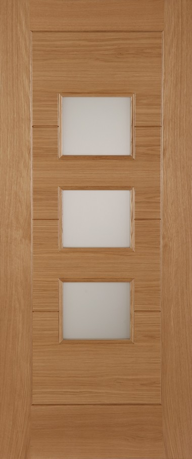 Oak Monza Thermal Rated (Acid Double Glazed Argon Gas Insulated 'k' Unit0