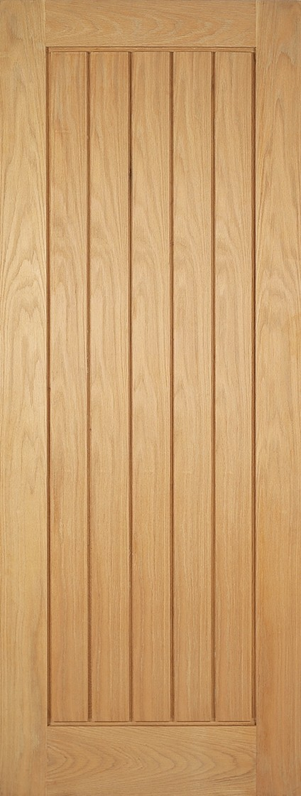 Oak Mexicano Fire Door