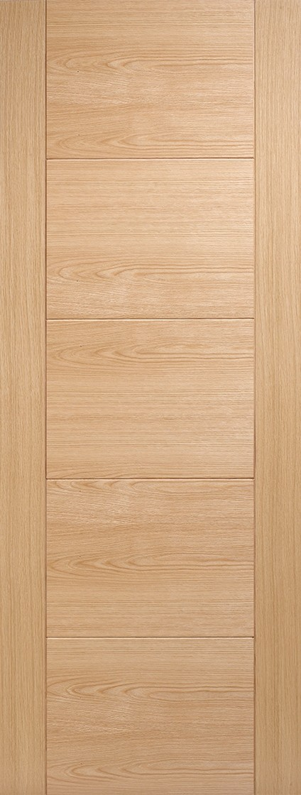 Pre-Finished Oak Vancouver  Fire Door