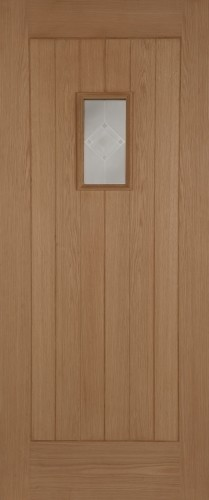 Oak Hillingdon Thermal Rated (Acid Double Glazed Argon Gas Insulated 'k' Unit0