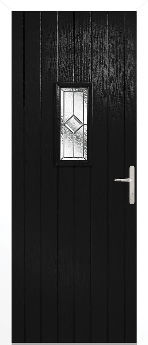 Speedwell Black Lead Double Glazed External Composite Door Sets