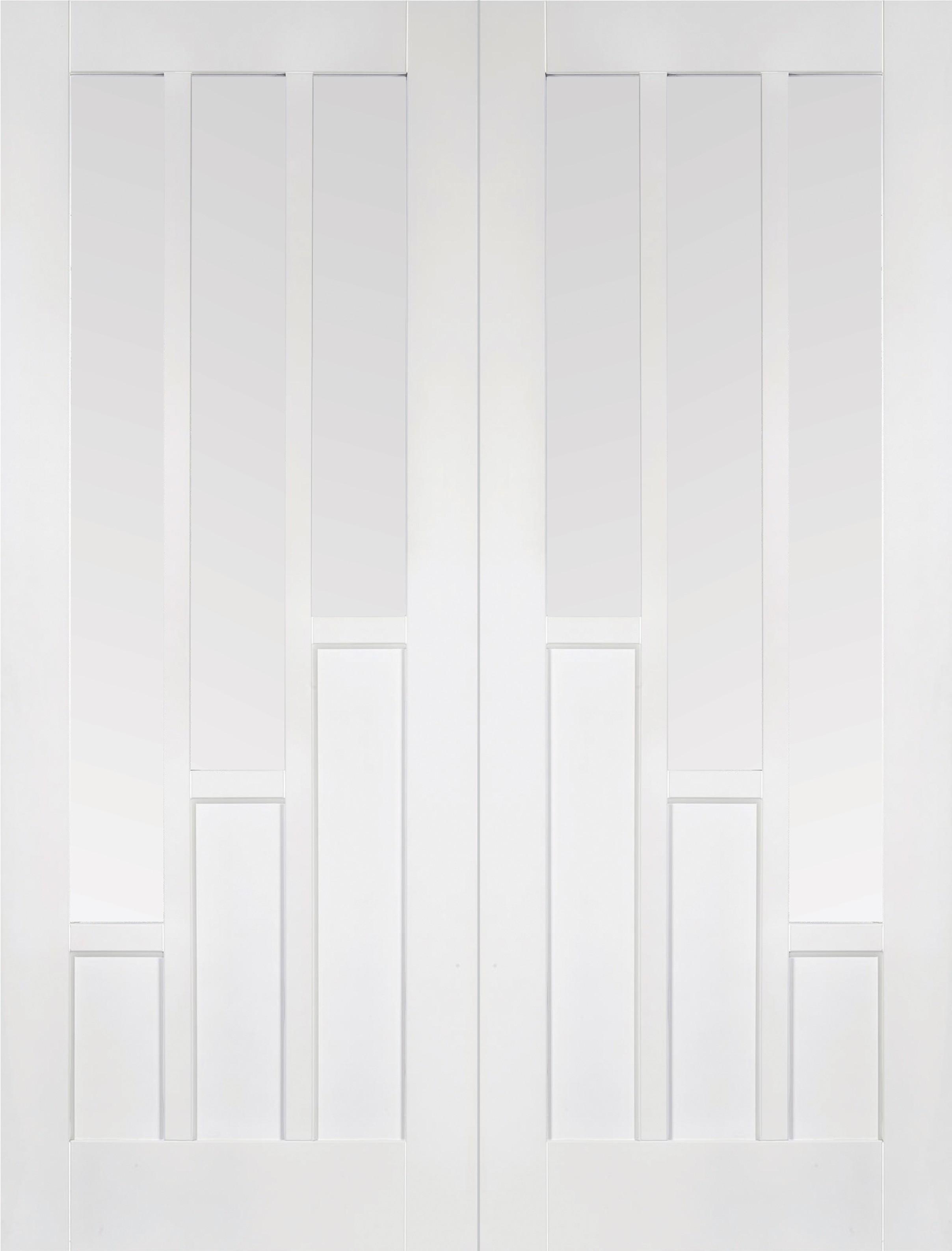 White COVENTRY Glazed Pairs