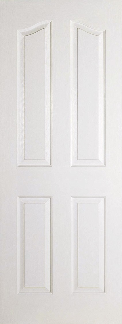 White Moulded MAYFAIR 4 Panel