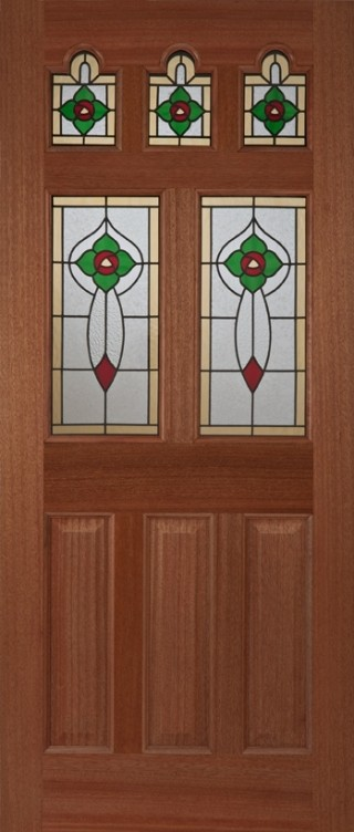 Hardwood Ealing Rose External Hardwood M&T Doors Glazed