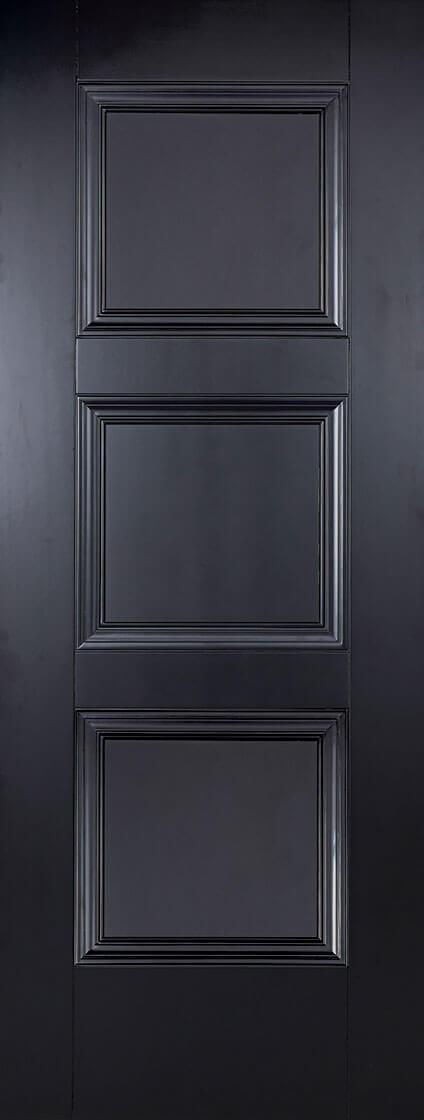 Black Primed AMSTERDAM Fire Door