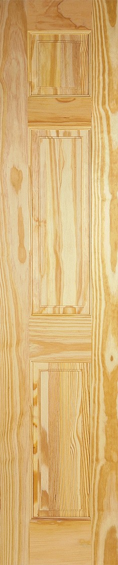 Clear Pine 3 Panel