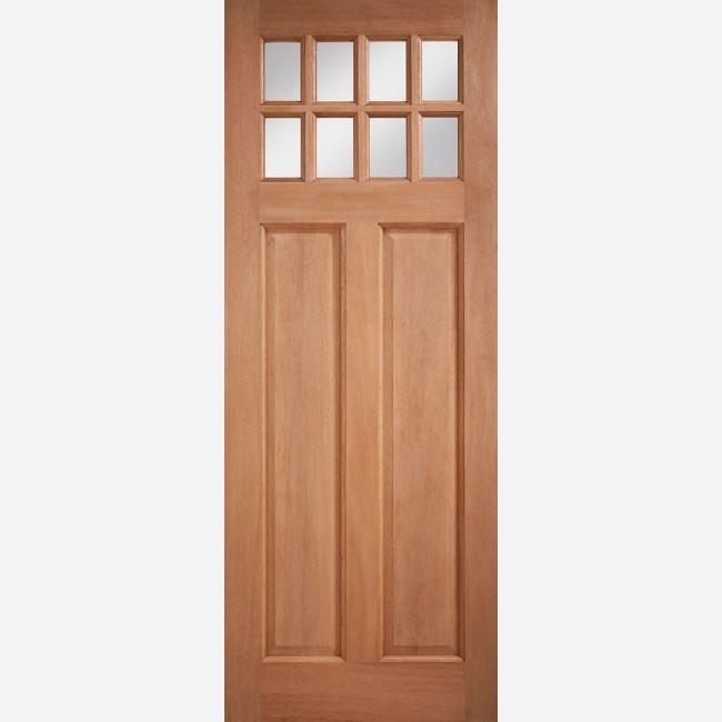EXTERNAL HARDWOOD DOORS GLAZED CHIGWELL CLEAR GLAZED