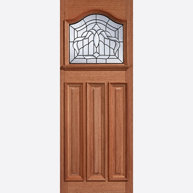 EXTERNAL HARDWOOD DOORS GLAZED ESTATE CROWN GLAZED 1L