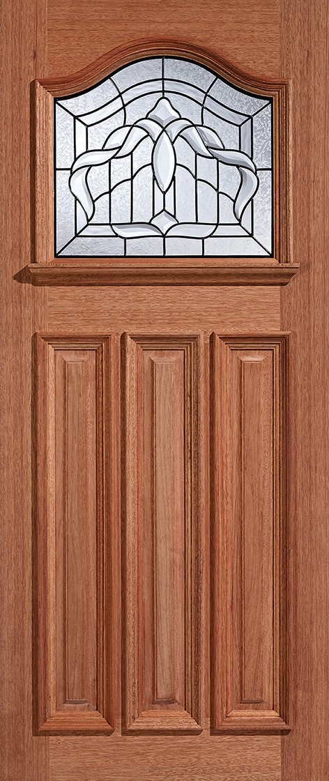 Hardwood Estate Crown (Lead Double Glazed)