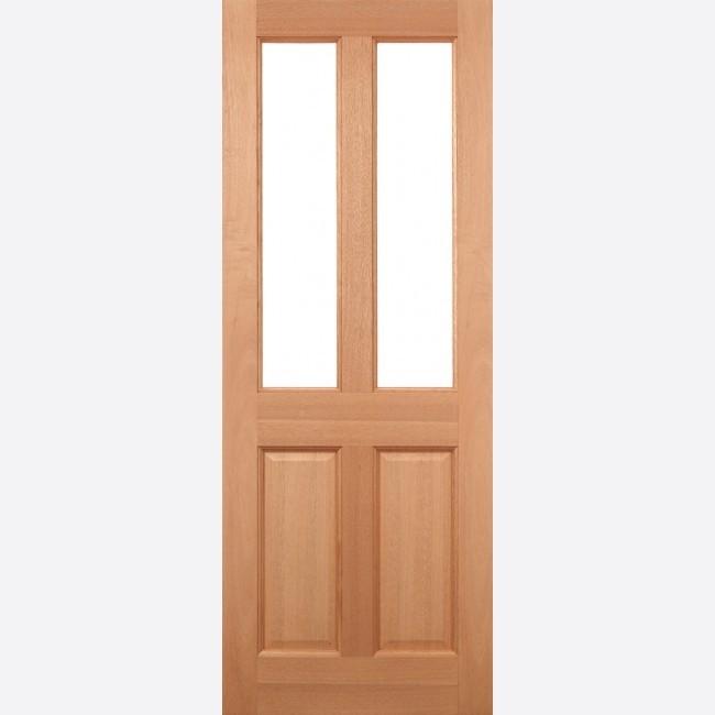 EXTERNAL HARDWOOD DOORS UN-GLAZED MALTON 2L UNGLAZED M&T