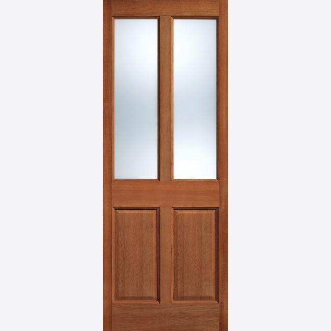 EXTERNAL HARDWOOD DOORS GLAZED MALTON GLAZED 2L FROSTED