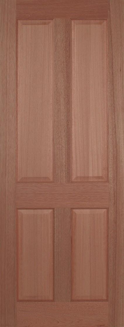 Hardwood Regency 4 Panel