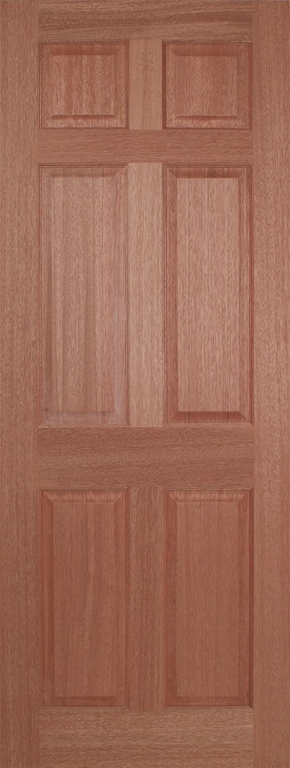 Hardwood Regency 6 Panel