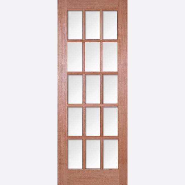 INTERNAL HARDWOOD DOORS GLAZED HARDWOOD SA 15L GLAZED