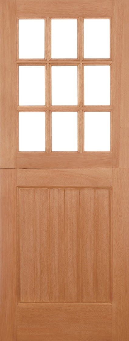 Hardwood 9L Straight top Stable (Un-Glazed)