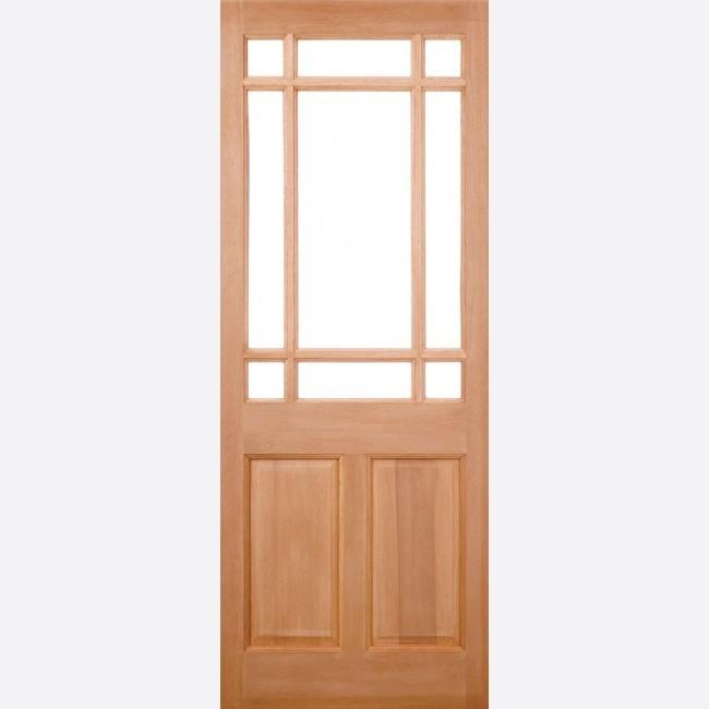 EXTERNAL HARDWOOD DOORS UN-GLAZED WARWICK M&T
