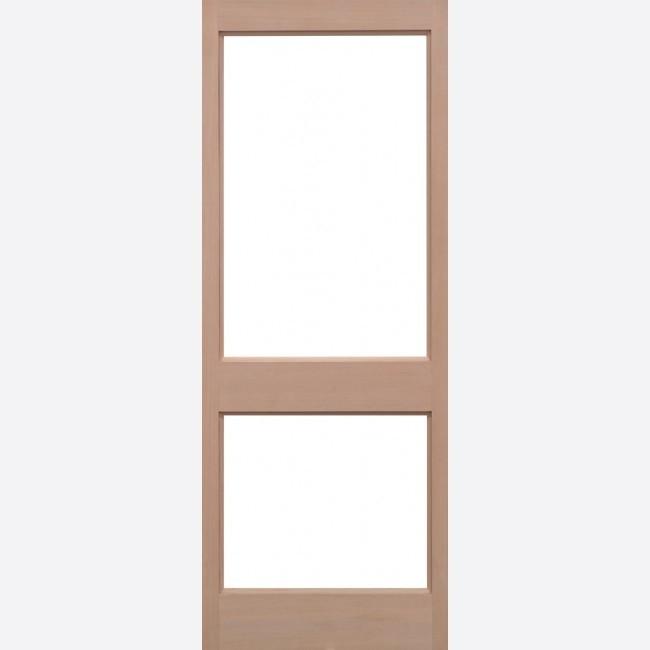 EXTERNAL HEMLOCK DOORS UN-GLAZED HEMLOCK 2XGG UNGLAZED
