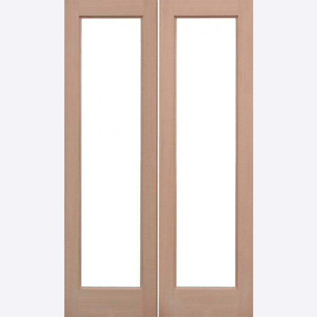 INTERNAL HARDWOOD DOORS HEMLOCK UNGLAZED PATTERN 20 PAIRS