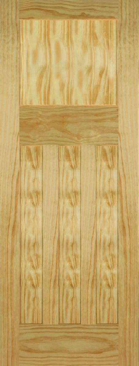 Mendes 4 Panel Pine DX 30s Style Fire Door FD30
