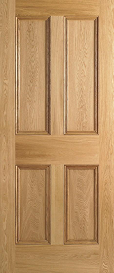 Oak 4 Panel Door