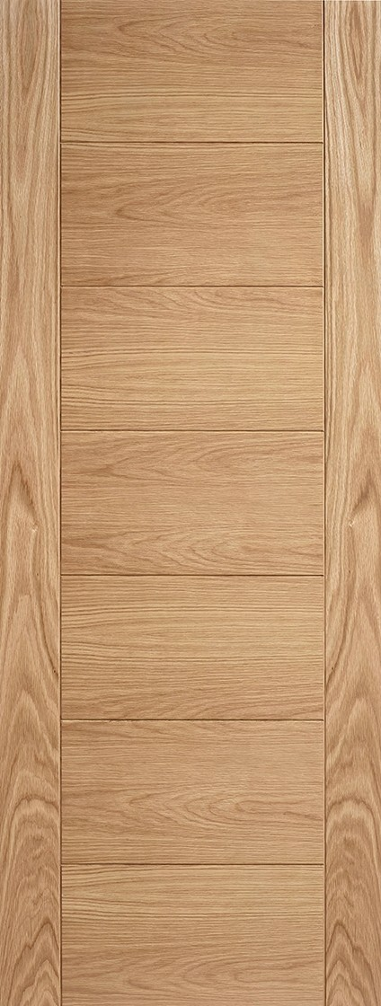 Pre-Finished Oak Carini Fire Door