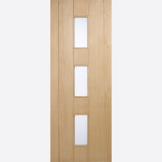 EXTERNAL OAK DOORS GLAZED OAK COPENHAGEN GLAZED 3L