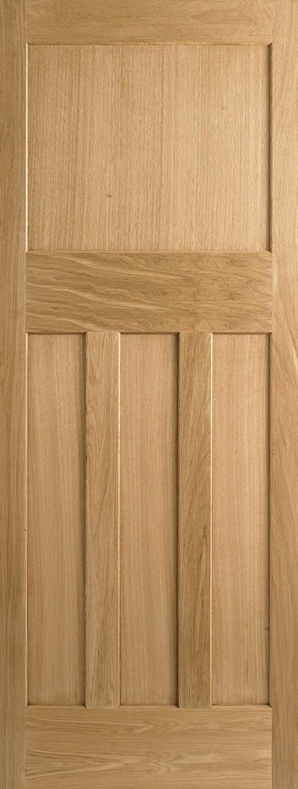 Oak DX 30's Style Fire Door