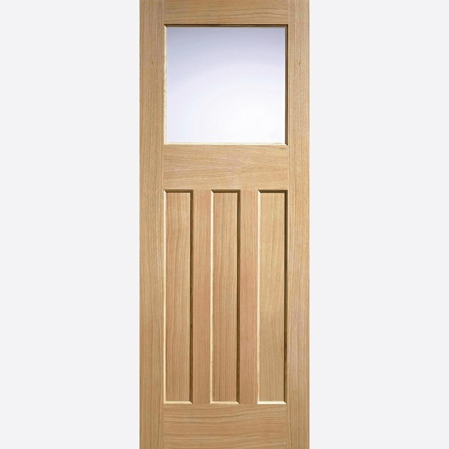 Oak DX 30's Style (Frosted Glass)