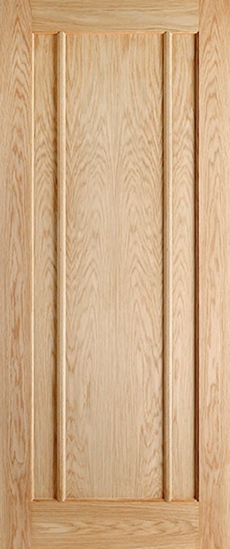Pre-Finished Oak LINCOLN Fire Door