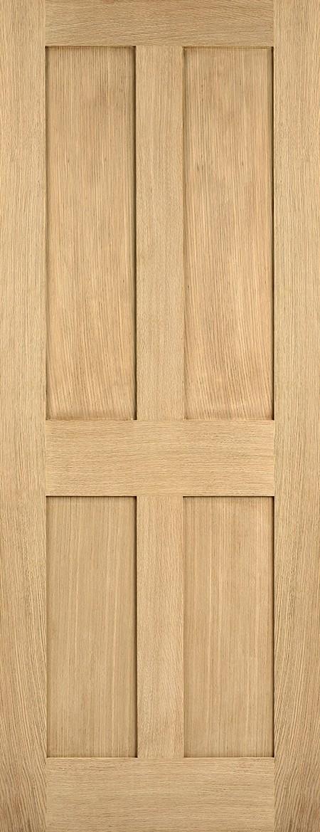 Oak London 4 Panel