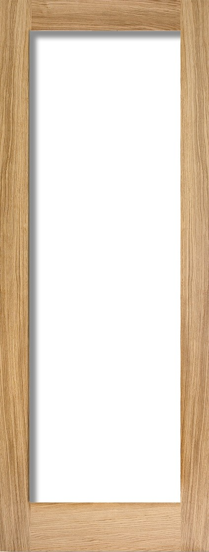 Oak Pattern 10 (Clear Glass)
