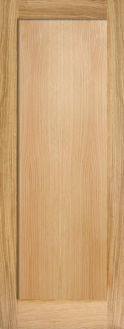 Oak Pattern 10 Fire Door