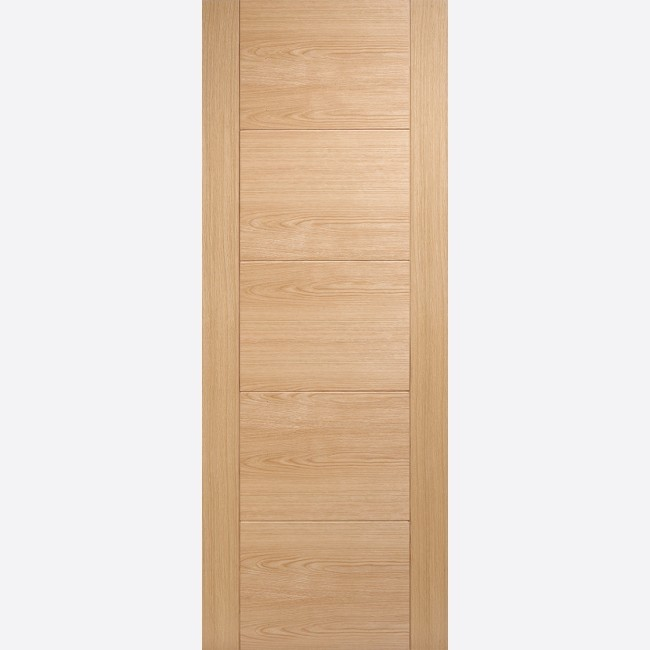 INTERNAL PRE FINISHED OAK FIRE DOORS OAK VANCOUVER 5P
