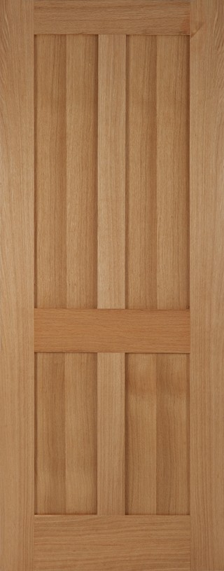 Oak Flat Panel Bristol Shaker Style Door