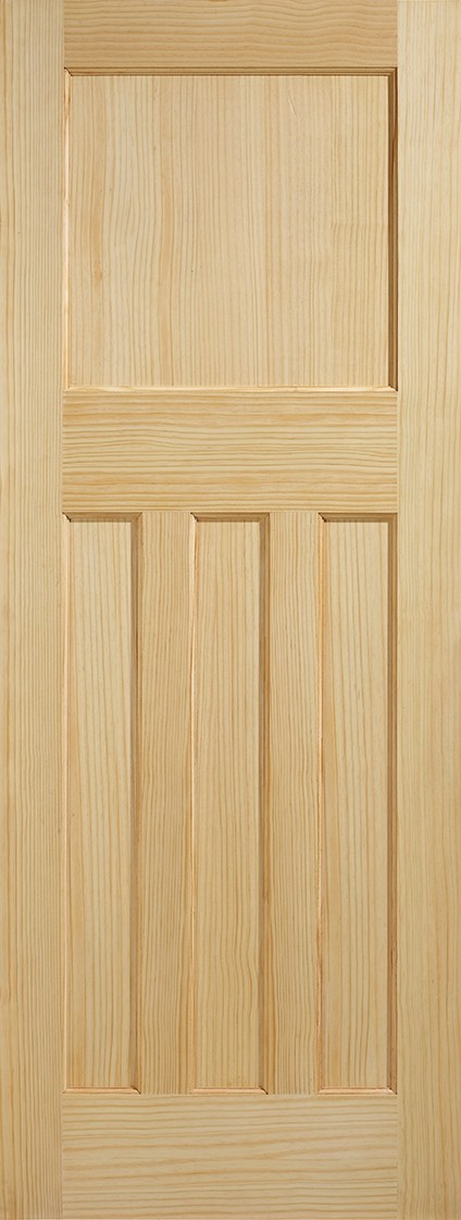 Pine DX 30s Style Fire Door