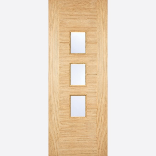 EXTERNAL OAK DOORS GLAZED WARMER DOOR - PART L ARTA OAK