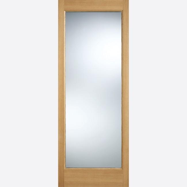EXTERNAL OAK DOORS GLAZED WARMER DOOR PART L PATTERN 10 GLAZED 1L
