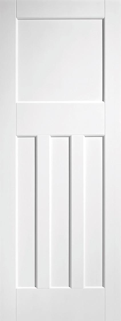 White DX 30's Style Fire door