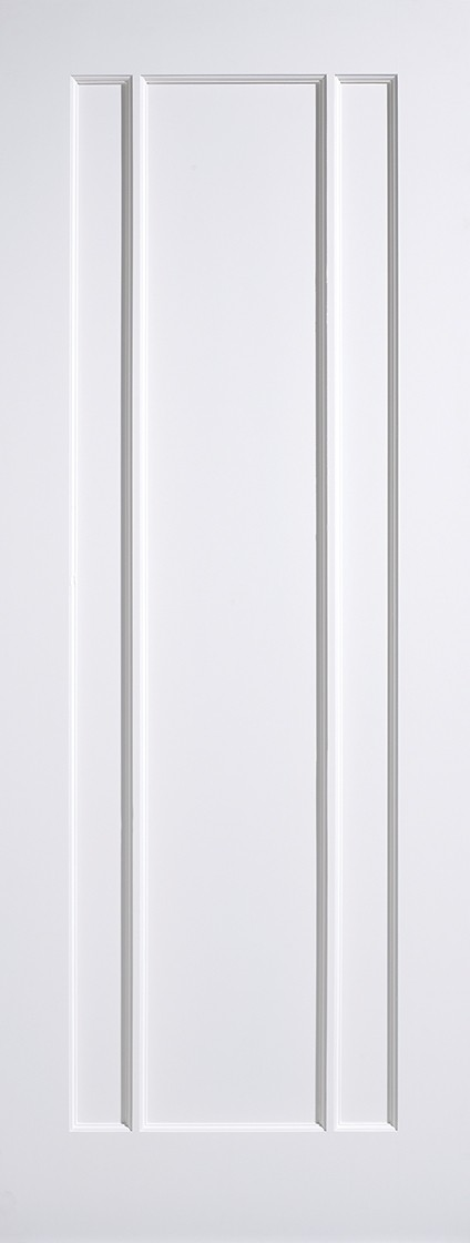 White Lincoln Fire Door