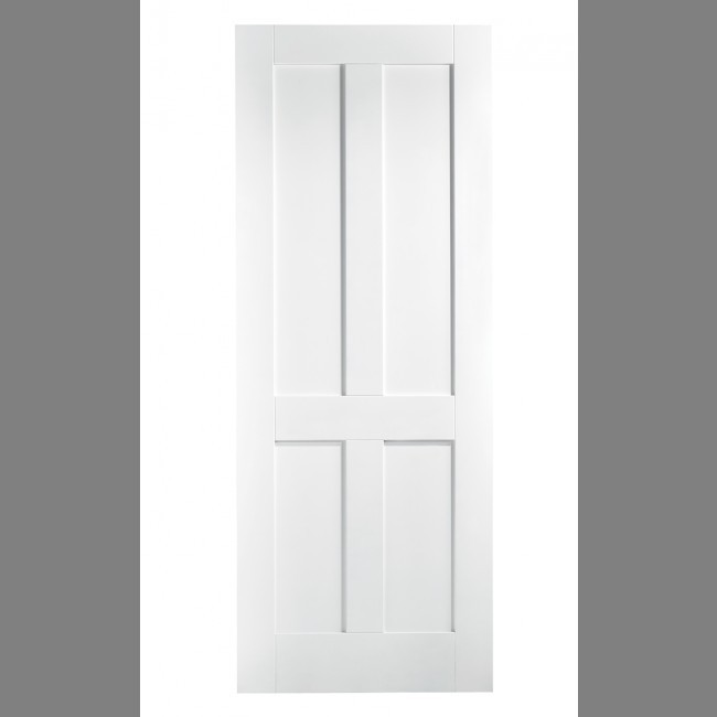 INTERNAL WHITE SOLID CORE DOORS WHITE LONDON 4P