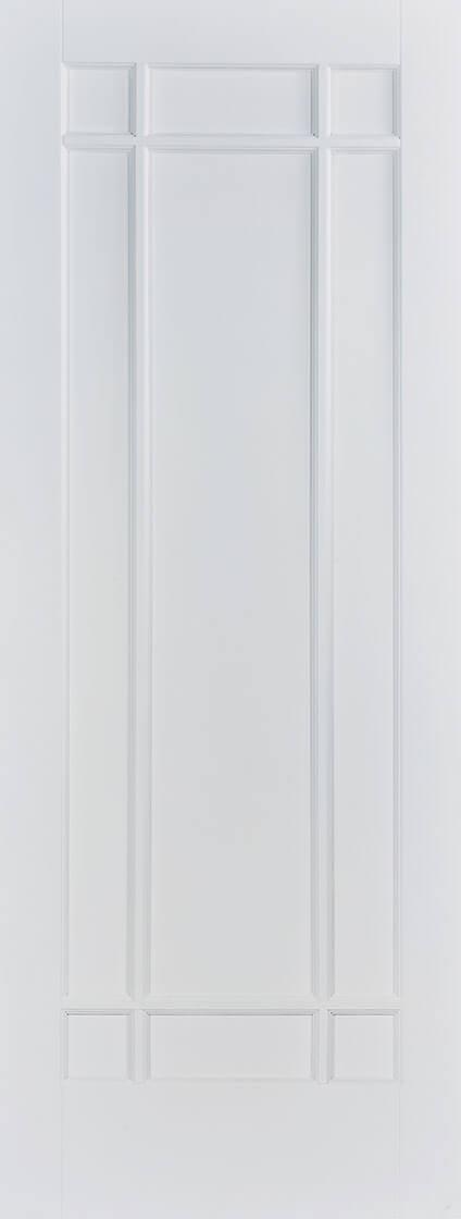 White Manhattan Fire Door
