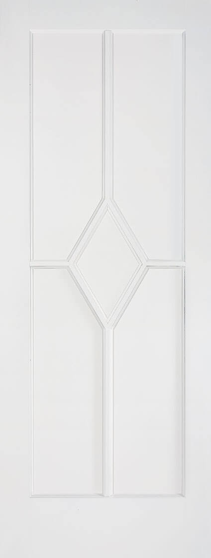 White Plus Primed REIMS Fire Door