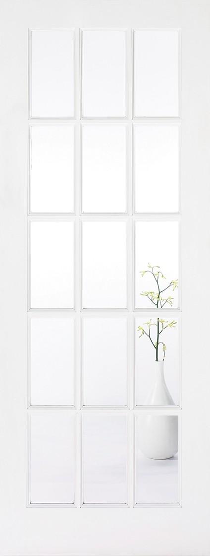 White SA/77 (Clear Glass)