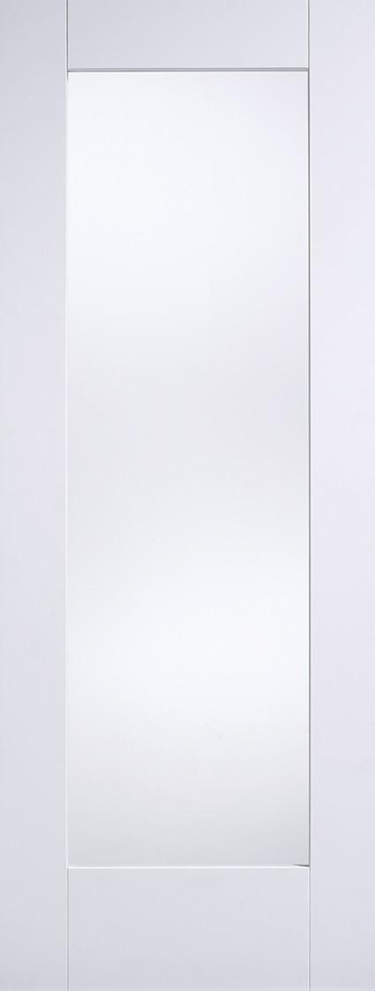 White Shaker 1 Light